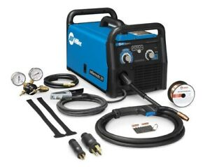 Millermatic 211 Mig Welder With Advanced Auto set 907614