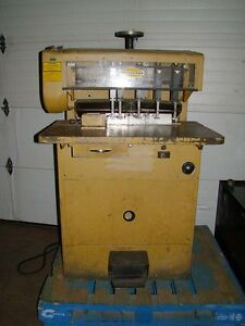 Works Great Check Video Challenge Ms10a Paper Drill Multi Head Punch