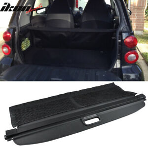 Fits 08 15 Smart Fortwo Oe Retractable Rear Cargo Security Trunk Cover Black