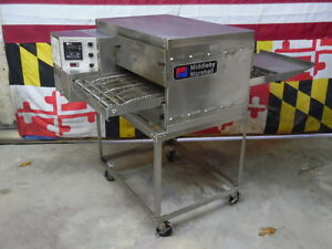Middleby Marshall Ps520e Electric Conveyor Pizza Oven With Stand