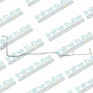 1967 Ford Ranchero C 4 V8 Automatic Transmission Cooler Lines Trans Stainless