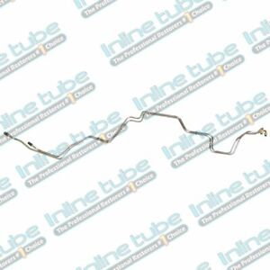 1990 93 Ford Mustang Automatic Aod Transmission Cooler Lines Fox Body Oe Steel