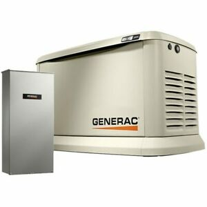 Generac Synergy trade 20kw Variable Speed Standby Generator 200a Service Di