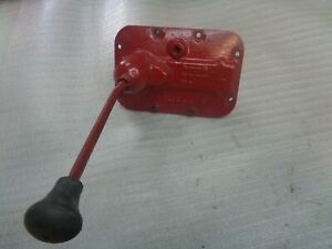 Farmall A B Bn Transmission Cover Shifting Rails And Forks