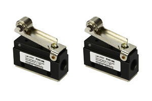 2x Roller Limit Switch Pneumatic Control Valve 2 Port 2 Way 2 Position 1 8 Npt