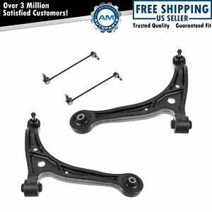 4 Piece Kit Lower Control Arm Ball Joint Sway Bar End Link Lh Rh For Odyssey New