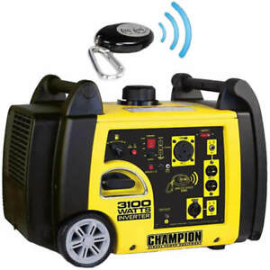 Champion 75537i 2800 Watt Electric Start Inverter Generator W Rv Outlet