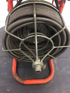 Used Sewer Snake Easy Rooter General Wire 1 2 Commercial Drain Cleaner