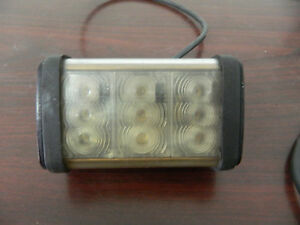 2 Federal Signal Cuda Trioptic Led Light Series A Pn 352012f r