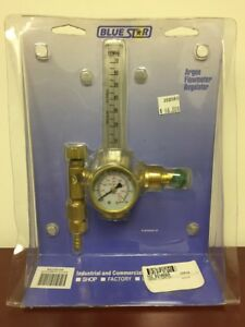 Blue Star Flowmeter Regulator Argon Cga580 Bs1480ar