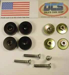 64 74 Challenger Cuda Barracuda Front Seat Rail Mounting Stud Kit Usa