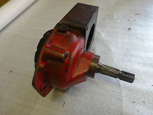 Farmall A Power Take Off Drive Housing Special With Power Take Off Shaft