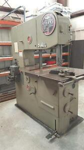 Used Do all 3613 2 Vertical Contouring Bandsaw 36 Throat 13 Height 30 Table
