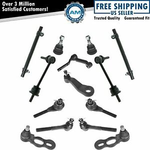 14 Piece Complete Suspension Steering Kit For 98 02 Ford Lincoln Mercury