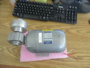 Parvalux Model 12a m 181509 5l Gear Motor With Gear Box Tested Good