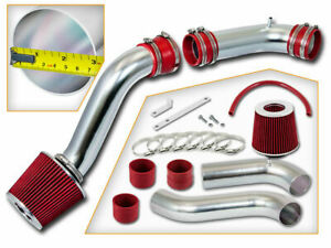 Red Cold Air Intake Kit Dry Filter For Ford 1990 1997 Thunderbird 3 8l V6 Na