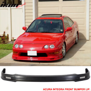 Fits 98 01 Acura Integra Dc2 Mugen Style Front Bumper Lip Urethane