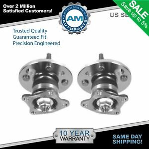 Rear Wheel Hub Bearing Assembly Pair Set For 93 02 Chevy Corolla
