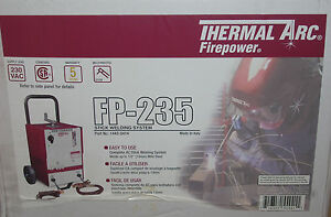Thermal Arc Firepower 1443 0414 Ac Stick Welder Fp 235 Arc Welder 230vac