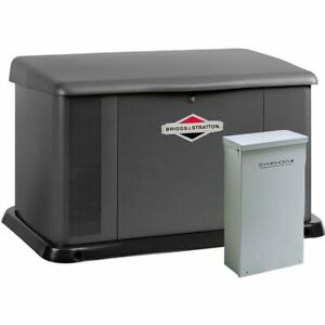 Briggs Stratton 17kw Standby Generator System 200a Service Disc Power M