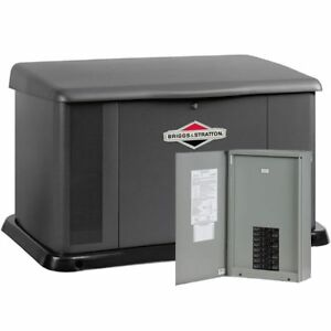 Briggs Stratton 17kw Standby Generator System 100a 16 circuit Ac Shedding
