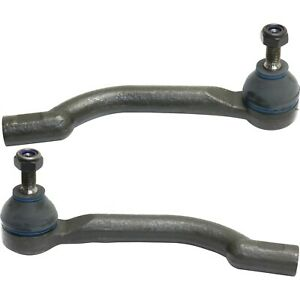 Tie Rod End For 2008 2013 Nissan Rogue 2 Outer Tie Rod Ends Front Outer