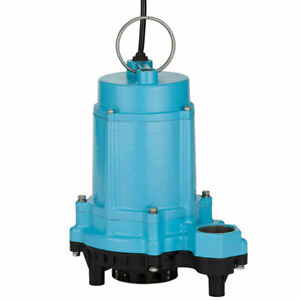 Little Giant 6ec cim 1 3 Hp Submersible Sump Pump W 20 Cord non automatic