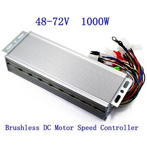 48 72v 1000w Electric Bicycle E bike Scooter Brushless Dc Motor Speed Controller