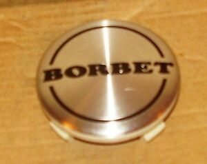 Borbet Wheels Silver Custom Wheel Center Cap 3628 1