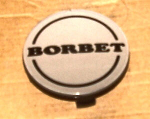 Borbet Wheels Silver Custom Wheel Center Cap Caps 1
