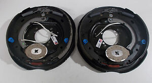 Dexter Pair 12x2 9 Hole 4 Hole And 5 Hole Backing Plate Trailer Axle Brake