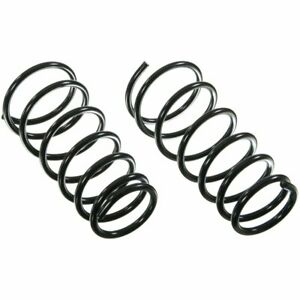 Moog Set Of 2 Coil Springs Front New For Jeep Grand Cherokee 80976