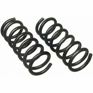 Moog Coil Springs Set Of 2 Front New For Jeep Liberty 2002 2007 Pair 81136