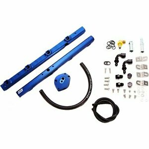 Bbk 5015 Fuel Rail Anodized Blue Aluminum Direct Fit