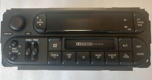Chrysler Dodge Jeep Rbb Cassette Radio W Cdc Factory Original Oem Stereo New