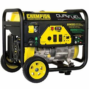 Champion 100231 5500 Watt Dual Fuel Portable Generator