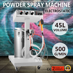 Powder Coating System With Spraying Gun Wx 101 Electrostatic Machine Spray
