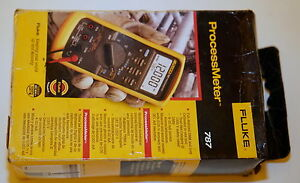 Fluke 787 Processmeter Process Meter Loop Calibrator W Ma Source Dmm New Os2