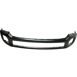 Front Bumper For 2012 2016 Ford F 450 Super Duty Painted Black Steel Capa