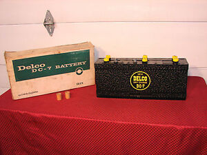53 56 Cadillac 53 Oldsmobile 53 58 Buick Nos Dc 7 161x Delco Battery