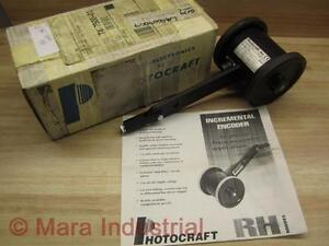Photocraft Rh 24aj 12c Encoder Wheel Used