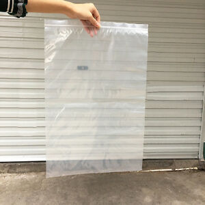 10 50pcs 45x55cm 18x22in Large Plastic Ziplock Bags Zipper Bag Reclosable 3mil