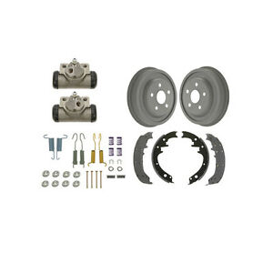 1970 1973 Ford Mustang W 1 3 4 Wide Shoes Rear Brake Drum Kit