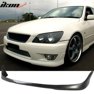 Fits 01 05 Lexus Is300 Altezza Sxe10 Front Bumper Lip Spoiler Pu