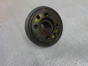 John Deere 1010 Crawler Dozer Crankshaft Hydraulic Pump Pulley