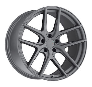 20 Staggered Tsw Geneva Gunmetal Wheels Rims Tires Package 5x4 5 Ford Mustang