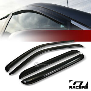 For 2002 2007 Jeep Liberty Kj Sun Rain Guard Tint Shade Deflectors Window Visors