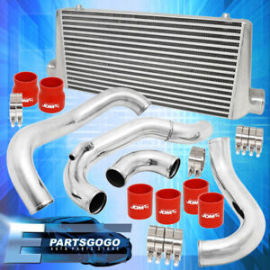 For 240sx 180sx Ca18det 89 94 Full Bar Plate Front Mount Intercooler Piping Pipe