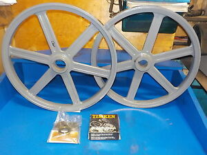 Bandsaw Wheels Bandwheels 19 Pair Brand New Bandwheels For Sawmill Flat Top