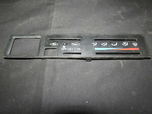 Toyota Hilux Pickup Truck 4runner Surf Heater Ac Climate Control Display Panel B